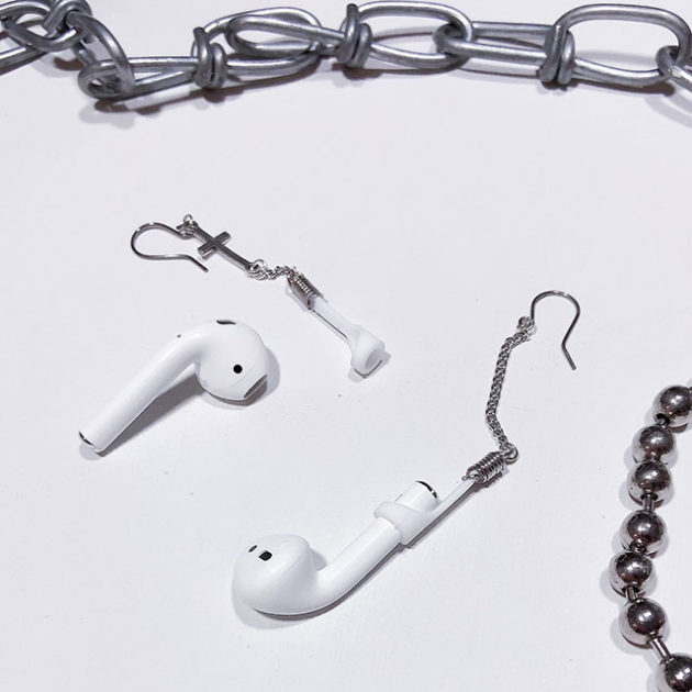Lady Turn AirPods Into Wearable Earrings