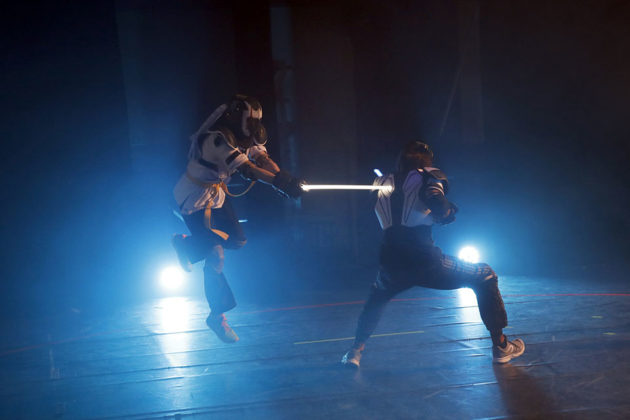 Lightsaber Duelling Is A Competitive Sport
