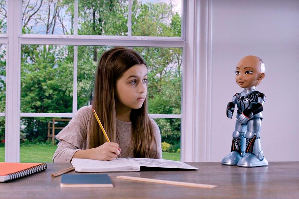 Little Sophia by Hanson Robotics
