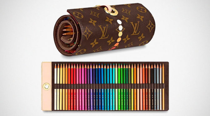 Here's A Set Of Coloring Pencils From Louis Vuitton For Richie Rich