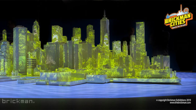 Lower Manhattan in LEGO Bricks by Brickman