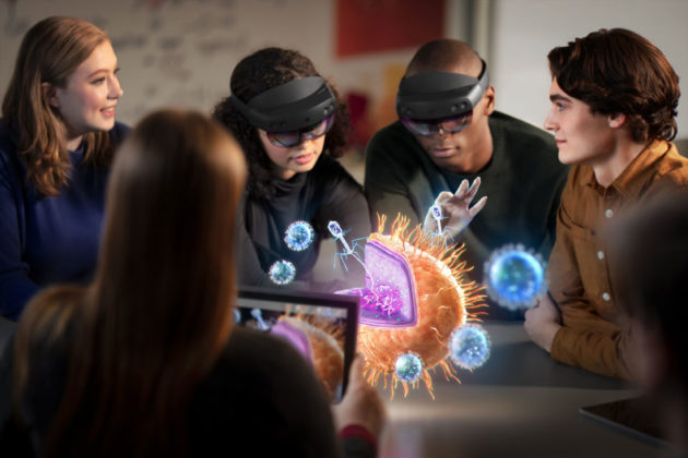 Microsoft HoloLens 2 Mixed Reality Headset