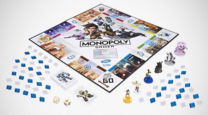 <em>Overwatch</em> Monopoly, Action Figures And NERF Blasters Coming Soon