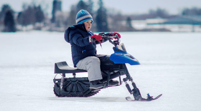 Snowmobile For Kids Is The Most Exciting Kiddie Ride Since