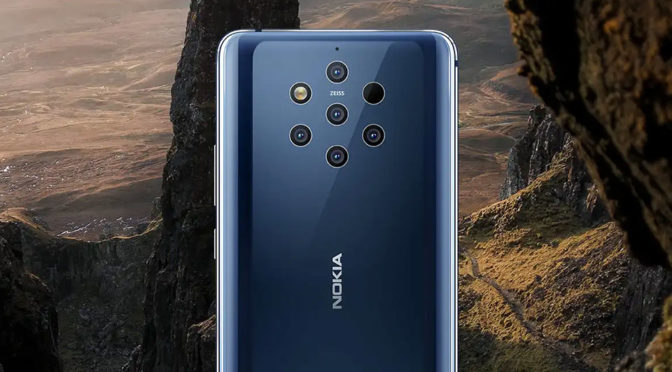 Do Not LooK At The Nokia 9 PureView 5-Camera Array If You Are Trypophobic