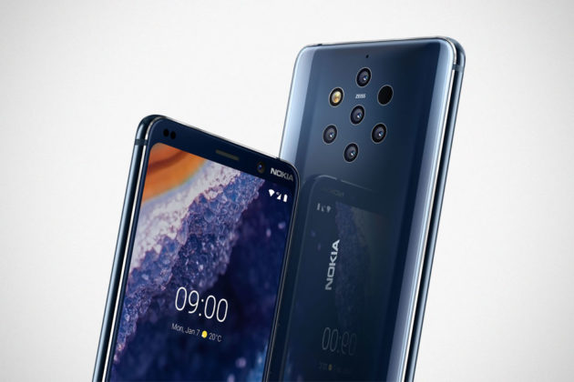 Nokia 9 PureView Smartphone MWC