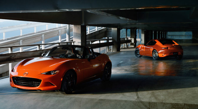 Mazda Rolls Out Limited Edition 30th Anniversary MX-5 Miata