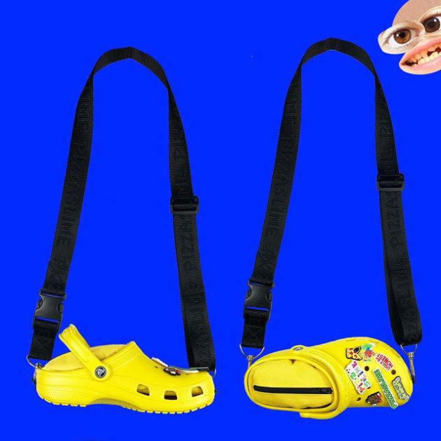 Pizzaslime x Crocs Crossbody Bag