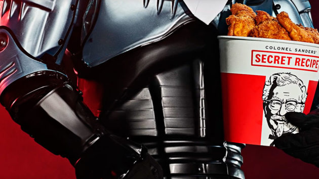 Robocop Protects KFC Secret Recipe