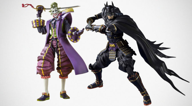 S.H.Figuarts Ninja Batman And Joker Action Figures
