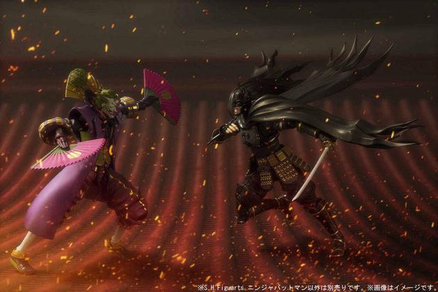 S.H.Figuarts Ninja Batman And Joker Action Figures