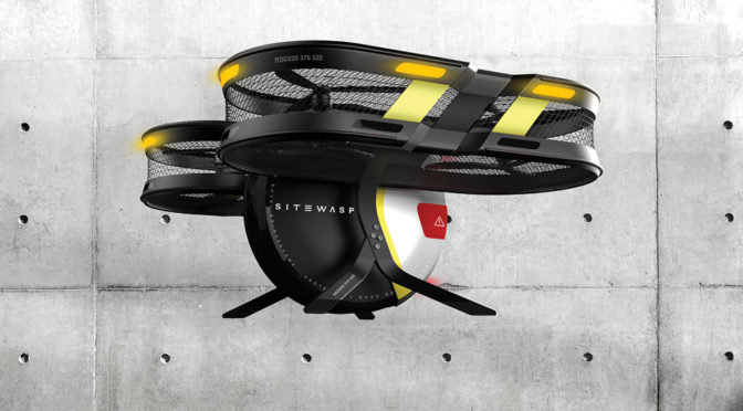 SITEWASP Drone Will Cut Construction Progress inspection To Hours