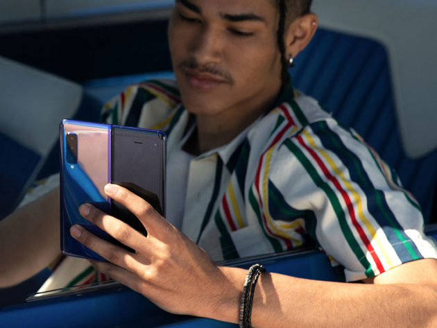 Samsung Fold Foldable Smartphone