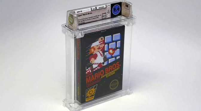 Sealed Copy Super Mario Bros Sold $100K
