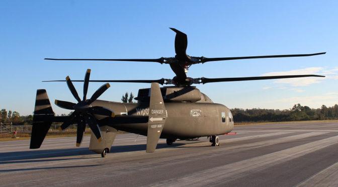 Sikorsky SB1 DEFIANT Helicopter Images