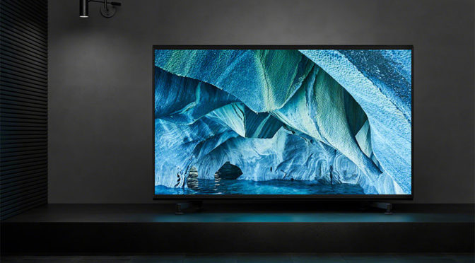 Sony's First 8K TV, Z9G 8K HDR TV Arrives In June For A Cool $70,000
