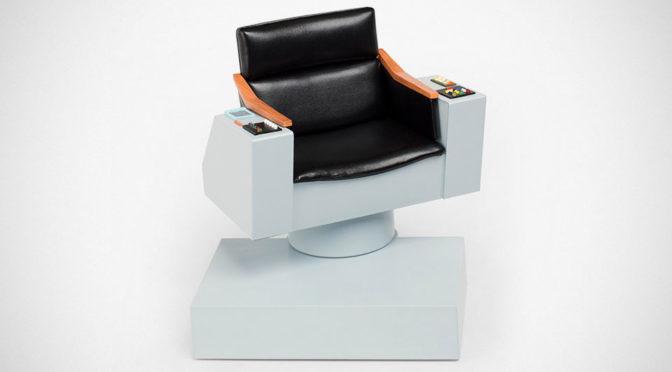 Star Trek TOS 1:6 Scale Captain's Chair