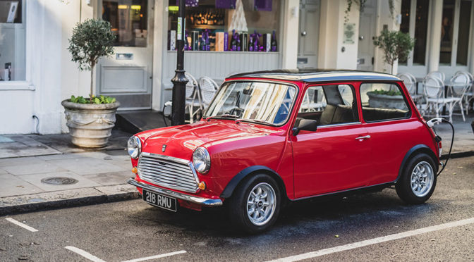 Yes, Sir! Classic MINI With Electric Drivetrain Is The Right Thing To Do!