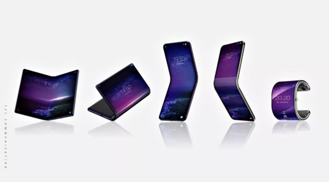Budget TV Maker, TCL, Working On Wrist-wearable Foldable Smartphone
