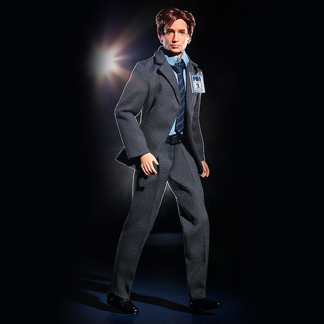 The X-Files Mulder Barbie Doll
