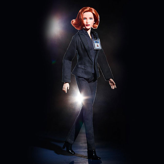 The X-Files Scully Barbie Doll