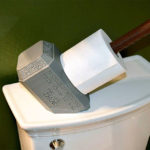Who Would Have Thought The Mjolnir Is Good As A Toilet Paper Holder Too?