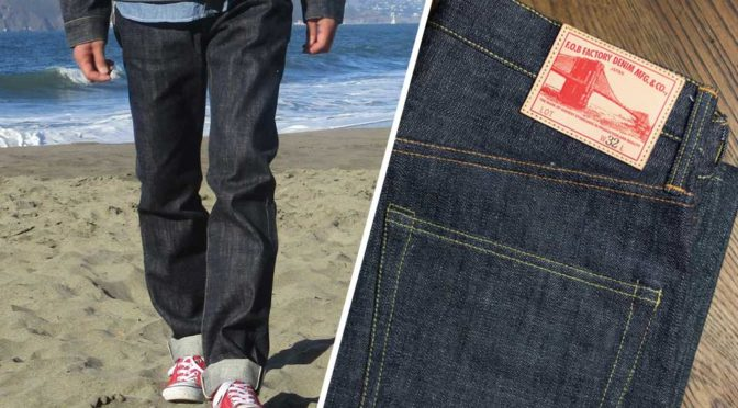 Here's A Pair Of Denim Jeans From Japan Made With Toyota Technology