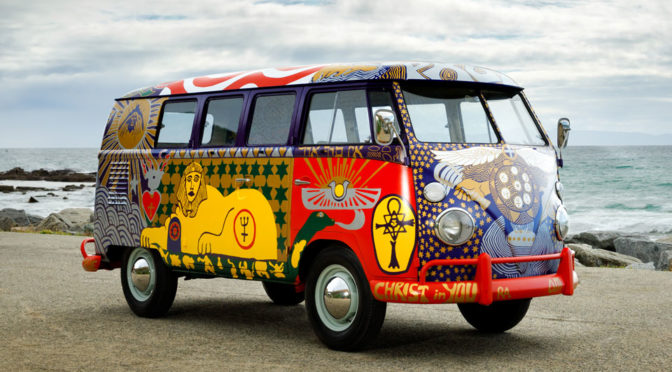 Replica of 1969 'Light Bus VW Type 2 Van