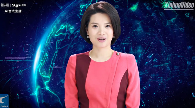 Xinhua News Agency Female AI Anchor