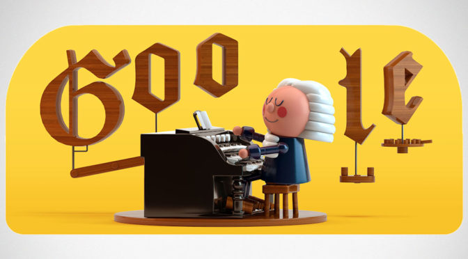 AI-powered Google Doodle x J.S. Bach