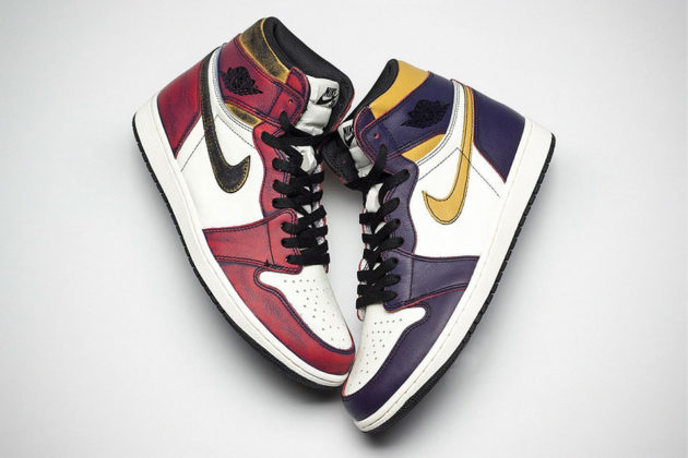 Air Jordan 1 OG x Nike SB Bulls vs Lakers