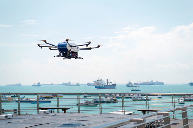 Airbus Skyways Delivery Drone Trialed