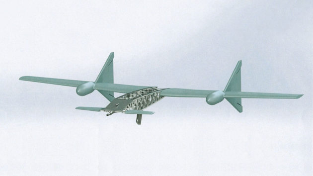 Almaz-Antey Flying Assault Rifle Drone