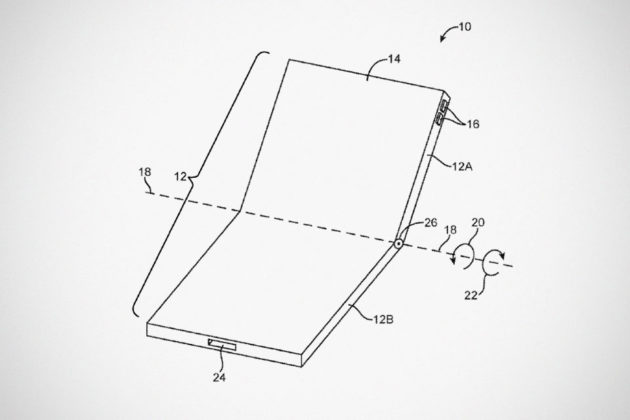 Apple Folding Display Patent Filed