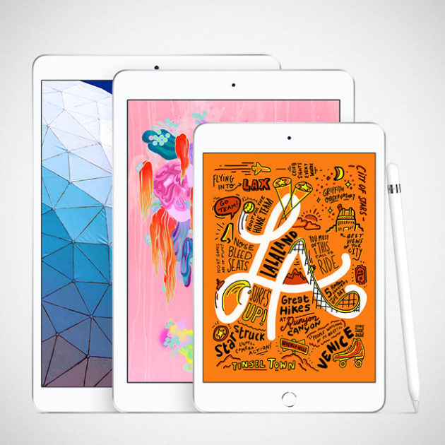 Apple iPad Air and iPad mini march 2019