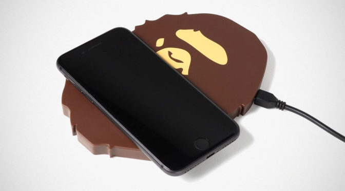 BAPE Ape Head Wireless Charging Pad