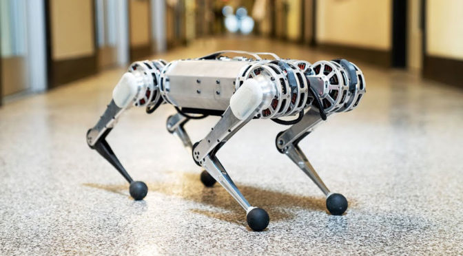 First It Was A Biped, Now A Quadruped Robot Can Pull Off