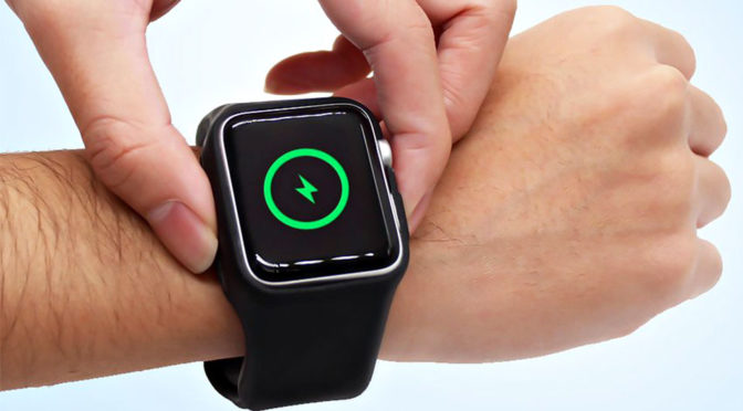 Batfree Power Strap for Apple Watch