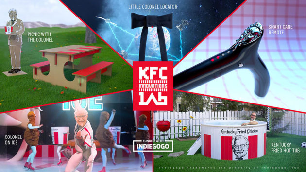 Bizarre KFC Inventions Being Crowdfunded
