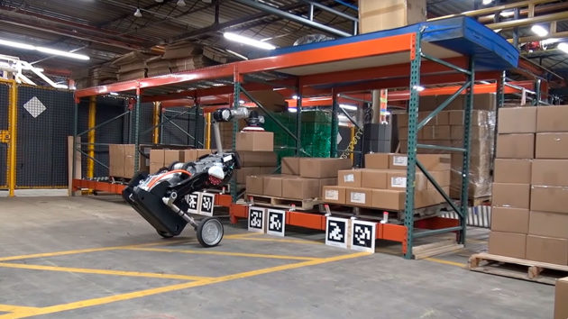 Boston Dynamics Handle Robot for Logistics