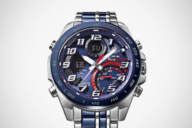 Here's The New CASIO EDIFICE Scuderia Toro Rosso Limited Edition Watches