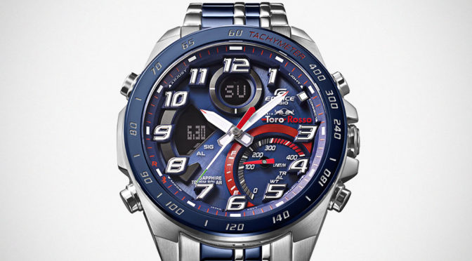 CASIO EDIFICE Scuderia Toro Rosso Watches