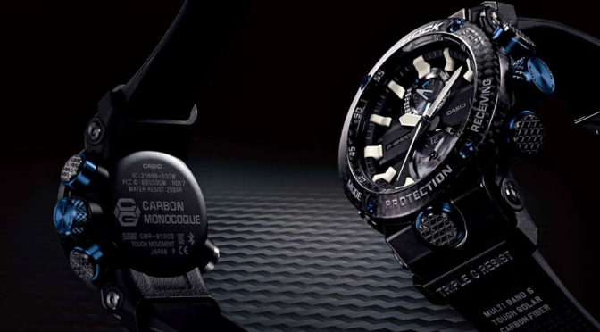 Casio G-Shock GWRB1000-1A1 Watch