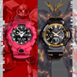 Casio Celebrates 40 Years Of <em>Gundam</em> With G-Shock Collection