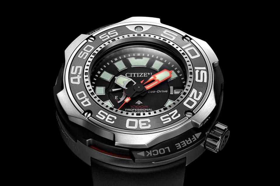 Citizen PROMASTER Eco-Drive Professional Diver 1000m