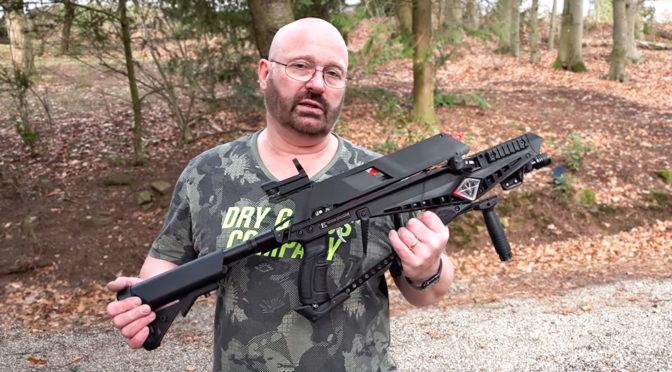 "Meet The World's First Commercially Manufactured ""Tactical"" Crossbow"