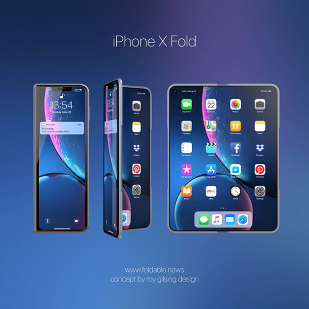 Concept Apple Foldable Phone