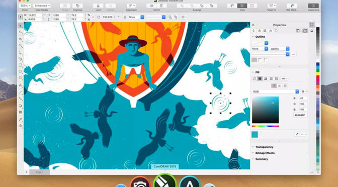 CorelDraw 2019 Returns To Mac, Introduces CorelDraw Web App