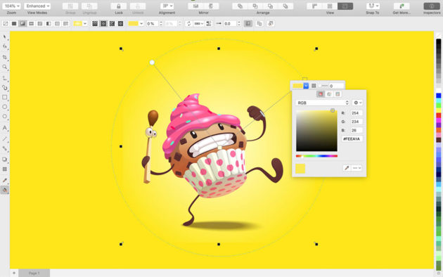 CorelDraw 2019 Mac and Web