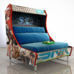Custom Arcade Cabinet-inspired Sofas Because, Why Not?